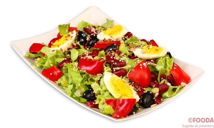 Salata însămânțată