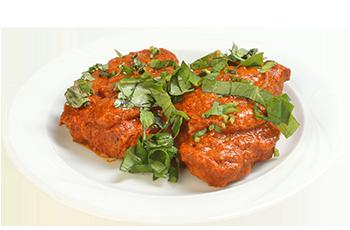 File de porc cu sos paprika